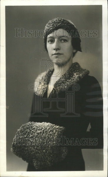 1932 Press Photo Mrs. Charles Rogers Lindsay III Chicago Girl Scout Council - Historic Images