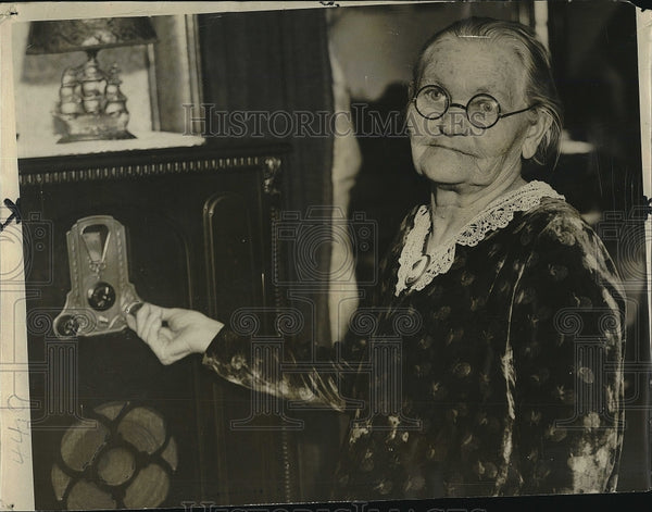 1932 Press Photo Mrs Mary Mooney Mother of Tom Mooney In Chicago - Historic Images