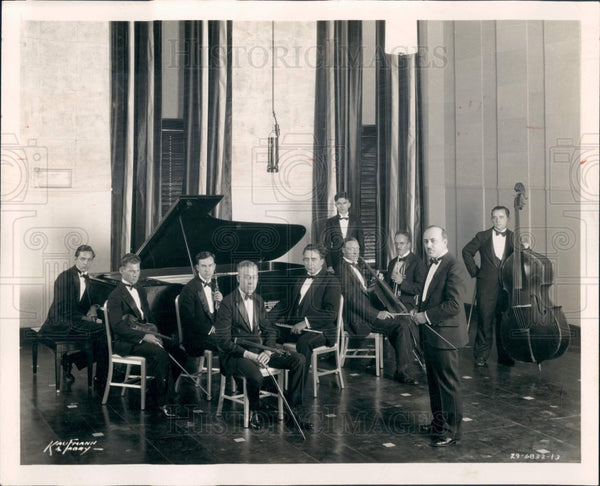 1932 Chicago Daily News Concert Orchestra Press Photo - Historic Images
