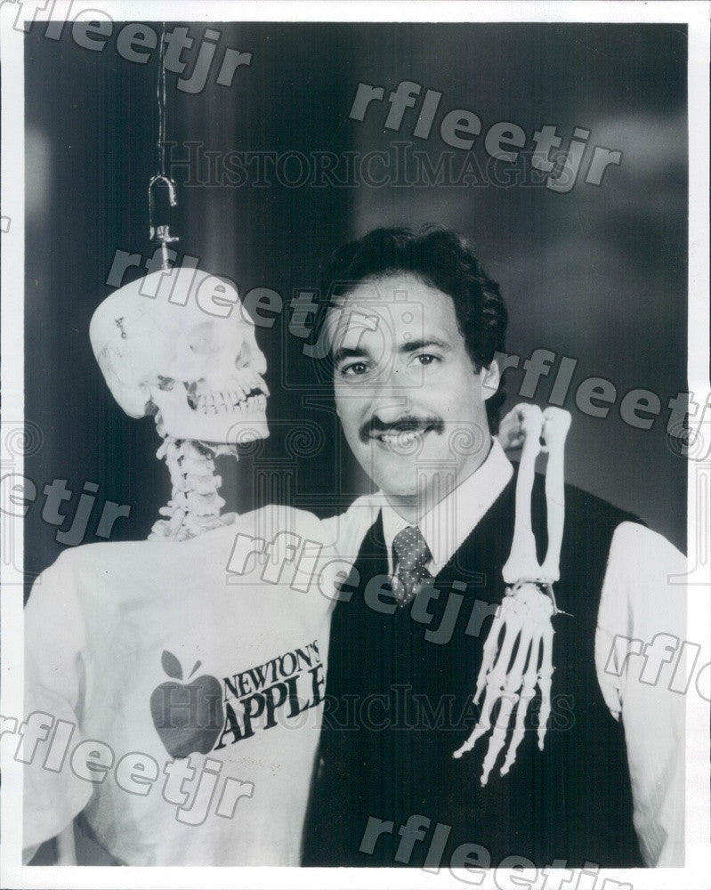1983 TV Host Ira Flatow on PBS Show Newton's Apple Press Photo adw359 - Historic Images
