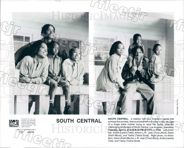 1994 Actor Tina Lifford, Larenz Tate, Keith Mbulo, Tasha Scott Press Photo adz99 - Historic Images
