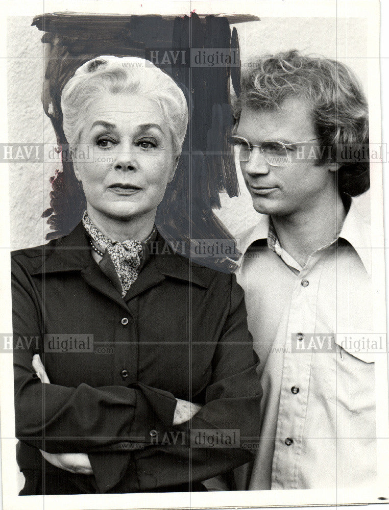 1979 Press Photo June Havoc and James Stephens - Historic Images