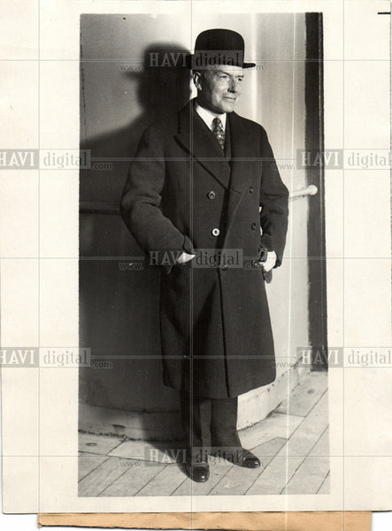 1928 Press Photo John D. Rockefeller, Jr Business - Historic Images