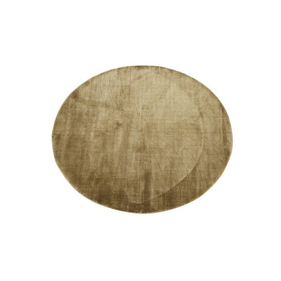 Adele Oval Rug in Mustard
