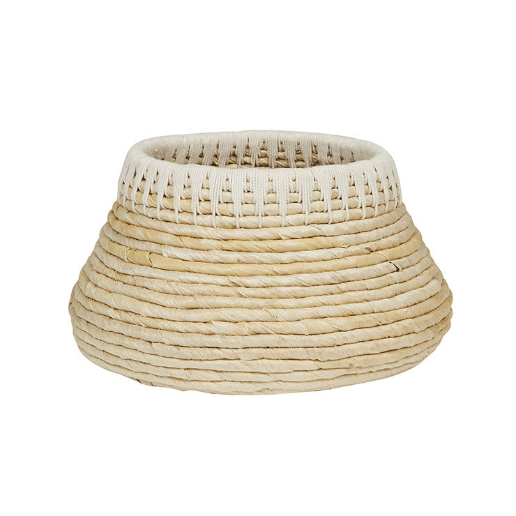 Arabella Rope Low Basket