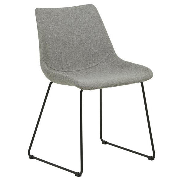 Arnold Dining Chair - Black/Grey Speckle
