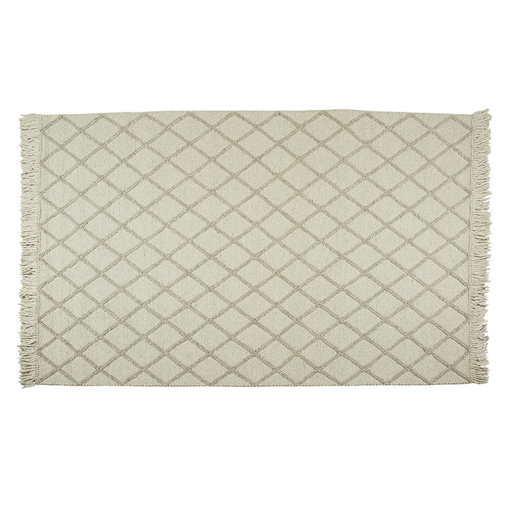 Aura Jewel Rug in Ivory/Biscuit