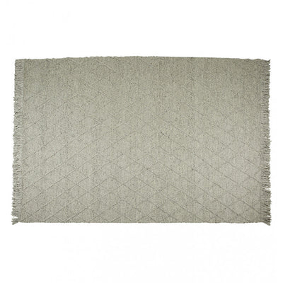 Aura Jewel Rug in Mid Grey