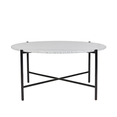 Bijoux Terrazzo Round Coffee Table in Cassata