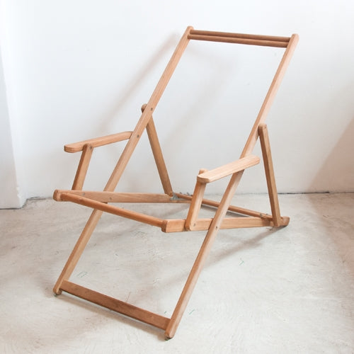 Deckchair with Arms Frame - Teak