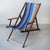 Deckchair with Arms (Ironwood) - Cotton Sling