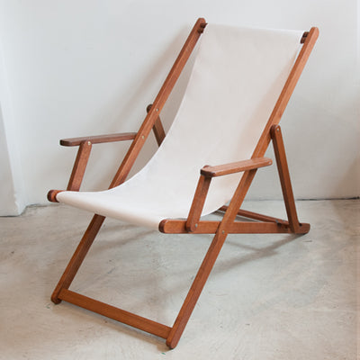 Deckchair with Arms (Ironwood)