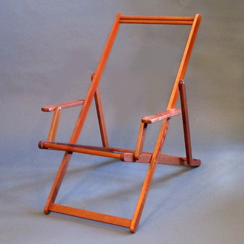 Deckchair with Arms Frame - Ironwood
