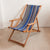 Deckchair with Arms (Teak) - Acrylic Sling