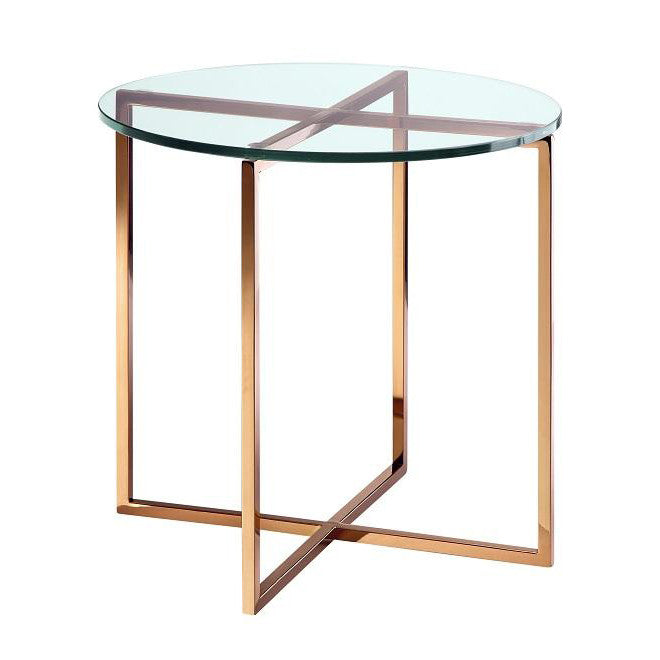Elle Luxe Round Side Table