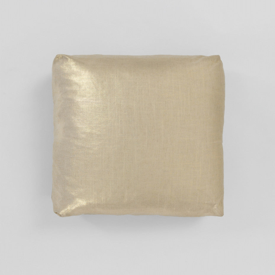 Gold Square Cushion