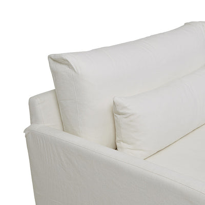 Island 3 Seater Sofa in Ivory