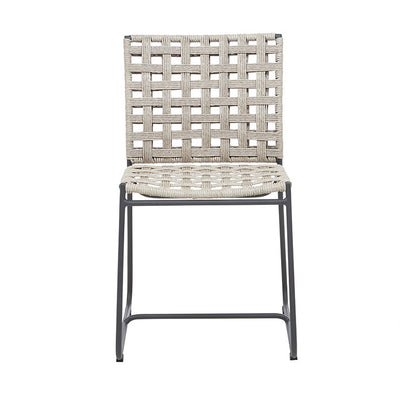 Marina Square Dining Chair in Shell