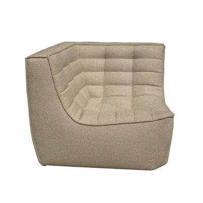 Ethnicraft N701 Corner Sofa in Dark Beige