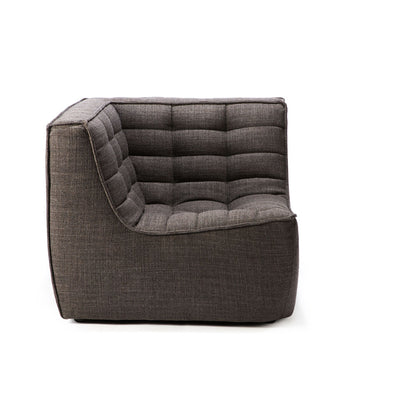 Ethnicraft N701 Corner Sofa in Dark Grey