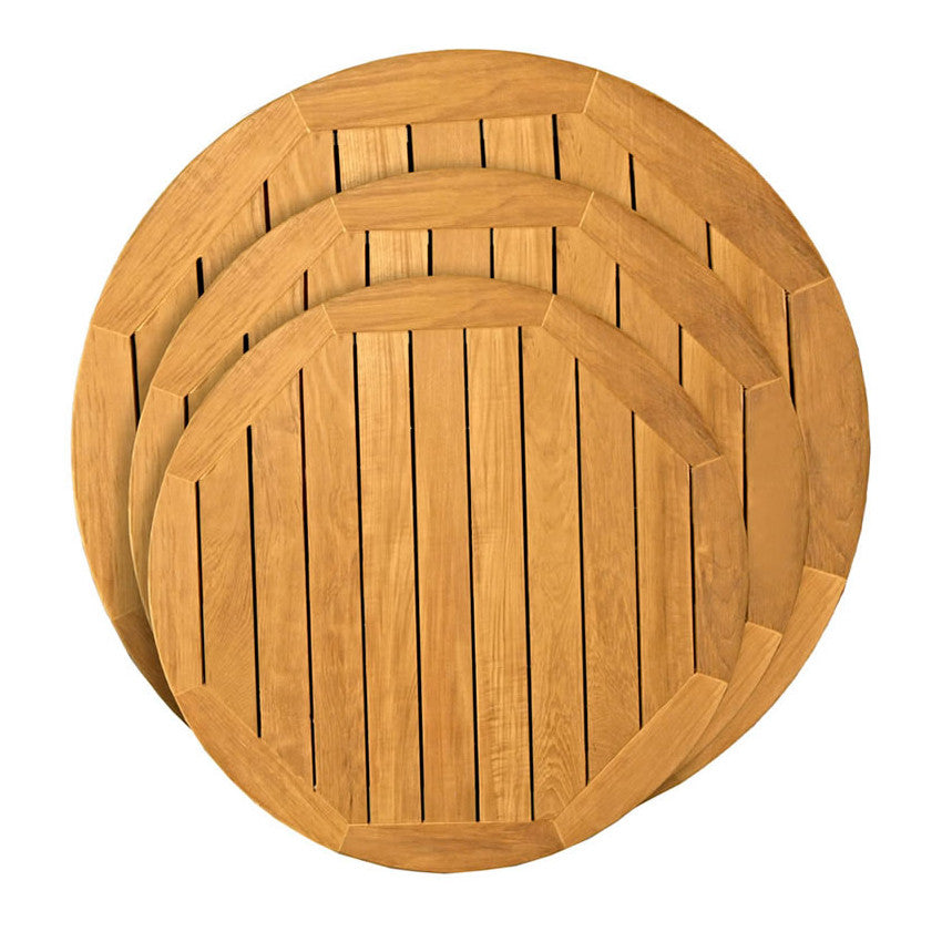 Teak Round Table Top