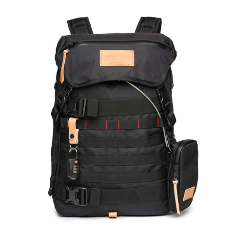 The Black Rider Daypack - FREE STRAPS & GEAR TIES - Limited to 100 - ANGRY LANE