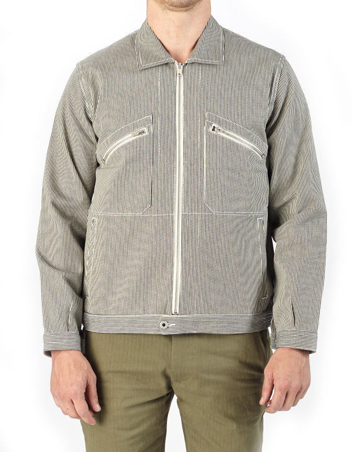 Papy Cotton Hickory Jacket - ANGRY LANE