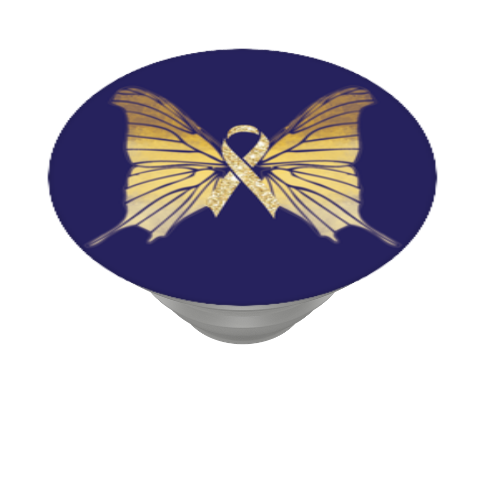 Gold Ribbon Butterfly, PopSockets