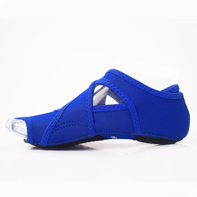 JINBEILEE Bandage yoga shoes air skid professional fitness five fingers adult fingerless wrapped adult shoes and socks