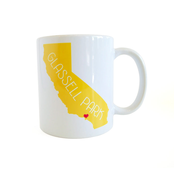 California Love Glassell Park Mug - Yellow