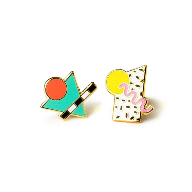 80's Memphis Style Earrings