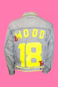 18th X Dandy Varsity Jean Jacket