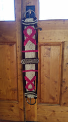 Hand made Mohair Cinches, Halters, Breast Collars
