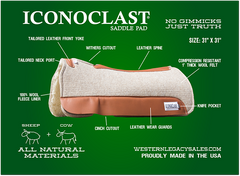 Iconoclast Saddle Pad