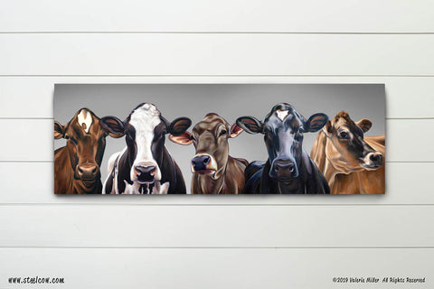 """Dairy Girls""™ 15th anniversary special edition Canvas Print"