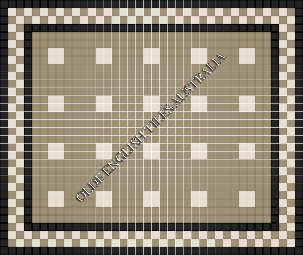 - Cotton Club 50 Light Grey with White Pattern