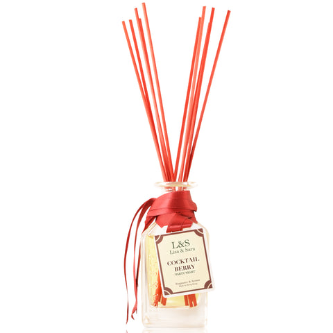 """Party Night"" - Cocktail Berry Reed Diffuser"