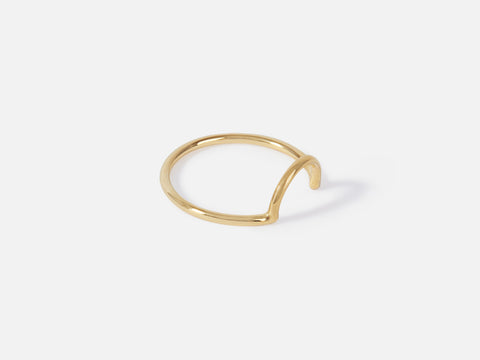 Misha Ring // gold <br/> FOLKDAYS N° 280