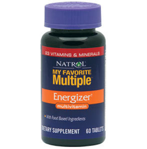 Natrol My Favourite Multiple Energizer 60 tableta