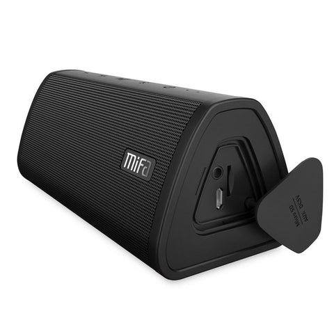 Black 10W Waterproof Bluetooth Portable Wireless Speaker