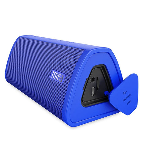 Powerful Royal Blue 10W Waterproof Bluetooth Portable Wireless Speaker