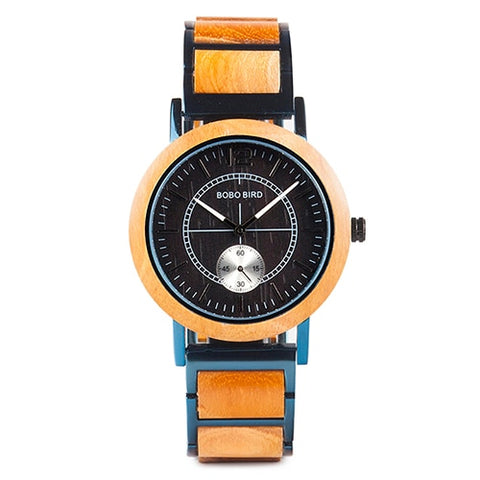 Divine Rare Yellow Women's Wooden Minimal Watch