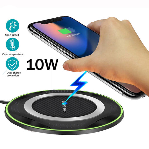 Pro Wireless Charging Pad for iPhone Xs Max XR 10W