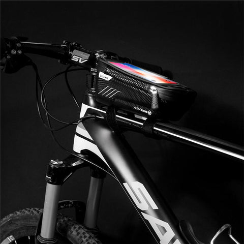 Black Waterproof Outdoor Bike or Motorcycle Mobile Holder