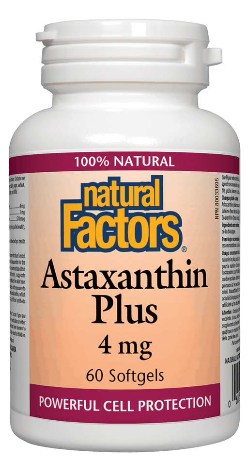 Natural Factors Astaxanthin Plus | Your Good Health