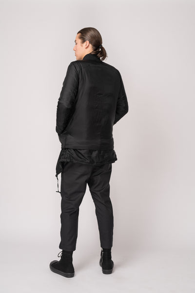 Rol Bomber Jacket - Black