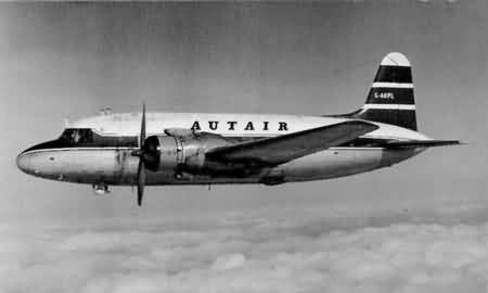 AUTAIR International Vickers Viking in flight  6 x 4 Print AU025