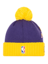 Los Angeles Lakers 2018 Draft Two Tone Pom Knit