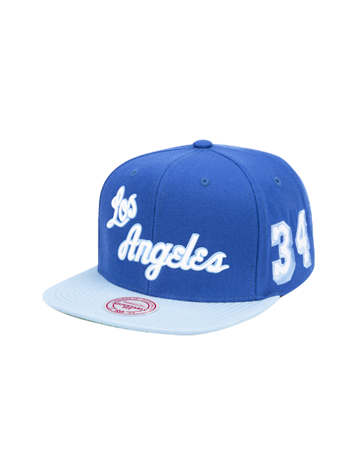 Los Angeles Lakers Shaq 34 Snapback Cap
