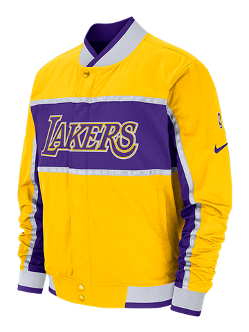 Los Angeles Lakers Half Zip Terry Pullover